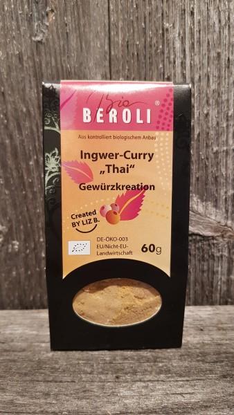 Ingwer-Curry Thai Gewürzzubereitung