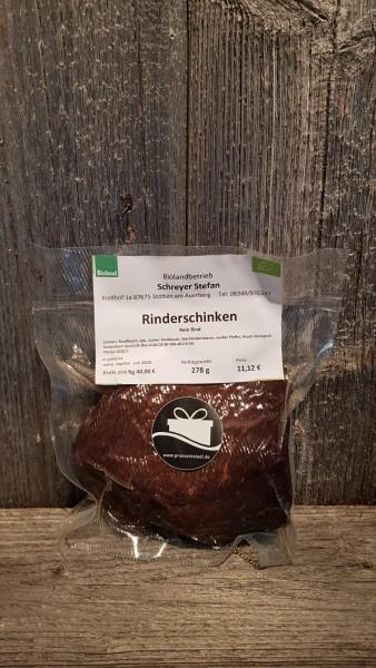 Bio- Rinderschinken