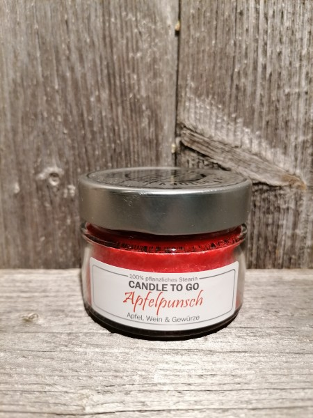 """Candle to Go """"Apfelpunsch"""""""