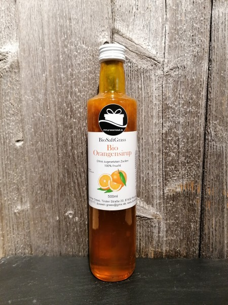 Bio-Orangen Sirup